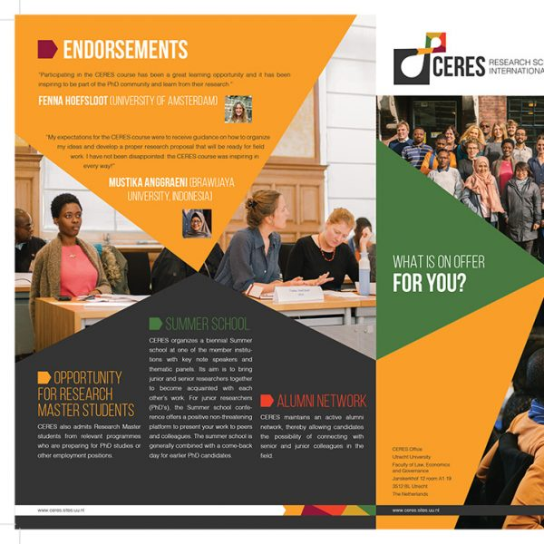 CERES Brochure Front and Back
