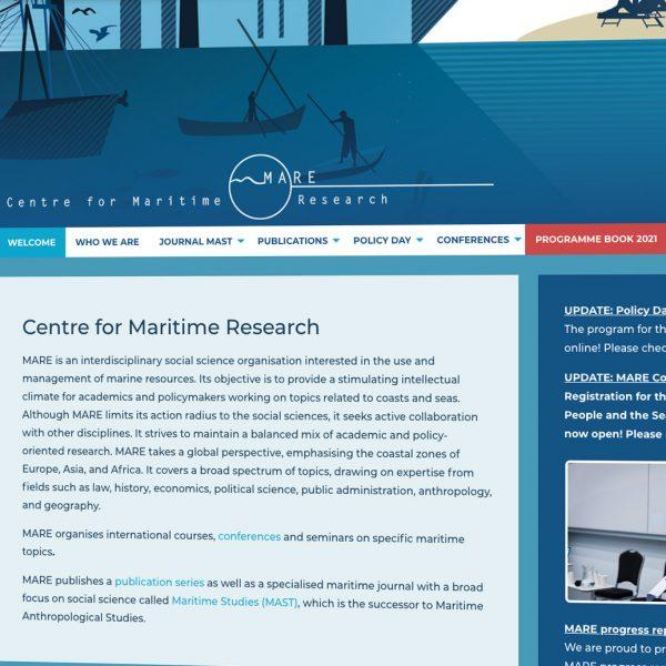 Website MARE Centre
