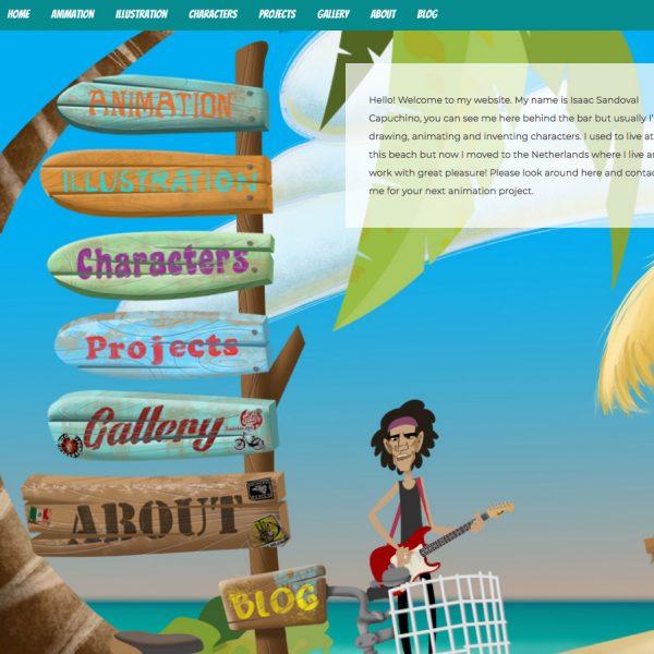 Website Mr. Capuchino