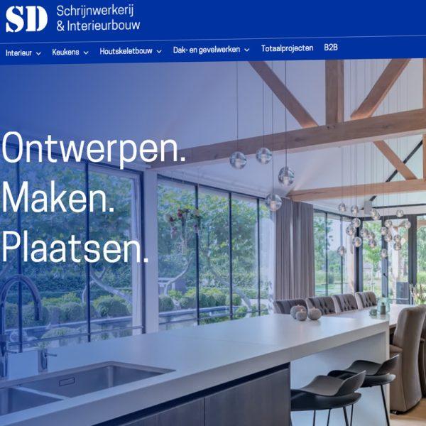 Website SD Schrijnwerkerij