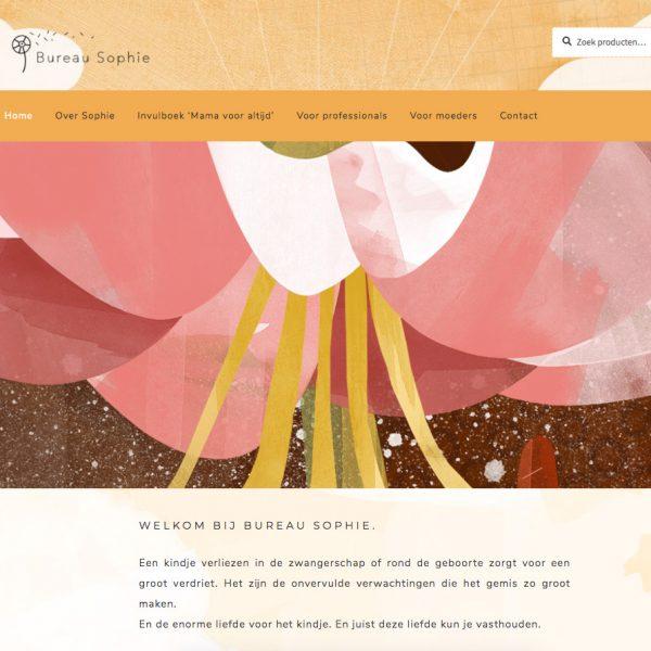 Website Bureau Sophie